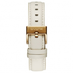Pasek MVMT Boulevard - 18mm Cream Leather