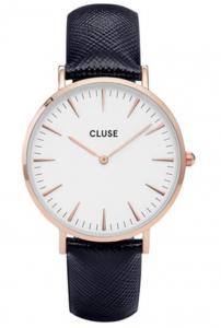 Zegarek Cluse La Boheme Rose Gold White/Midnight Blue