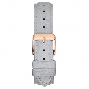 Pasek MVMT Boulevard - 18mm Light Grey Leather