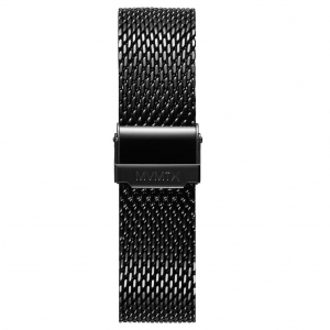 Bransoleta MVMT Voyager - 21mm Mesh Band Black