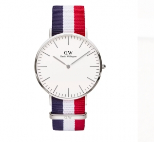 Zegarek Daniel Wellington Classic Cambridge Silver