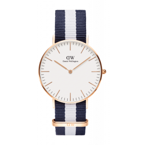 Zegarek Daniel Wellington Classic Glasgow Rose Gold