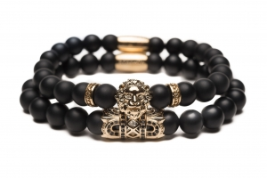 Bransoletka Zorrata Gold Lion Stack