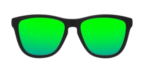 Okulary HAWKERS Original Carbon Black/Emerald