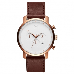 Zegarek MVMT Chrono Rose Gold Chestnut