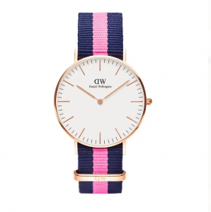 Zegarek Daniel Wellington  Winchester Rose Gold White