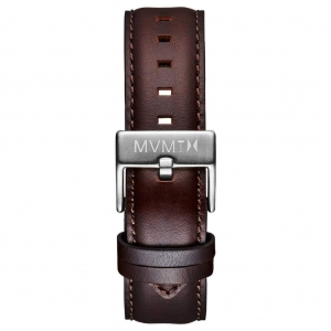 Pasek MVMT 40 Series / Modern Sport - 20mm Brown Leather