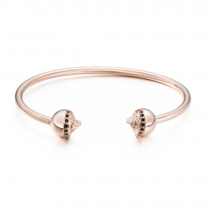 Bransoletka Zorrata Rose Gold Lion Bangle