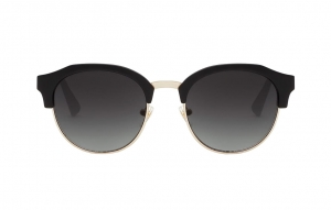 Okulary HAWKERS Classic Rounded Rubber Black Dark