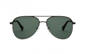 Okulary HAWKERS Lacma Black Silver/Green Bottle