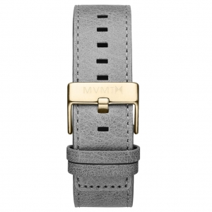Pasek MVMT Classic - 24mm Light Grey Leather