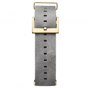 Pasek MVMT Voyager - 21mm Light Grey Leather