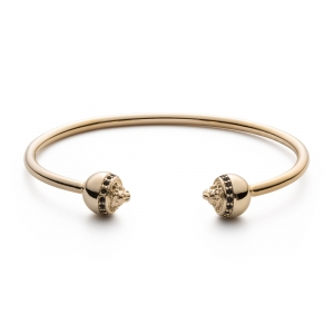 Bransoletka Zorrata Gold Lion Bangle