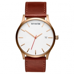 Zegarek MVMT Classic Rose Gold Natural Tan