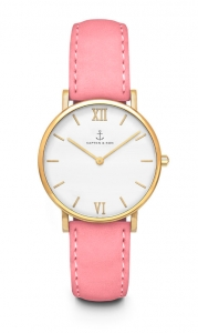 Zegarek Kapten Joy Rose Velvet Leather