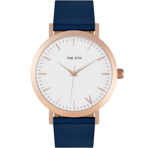 Zegarek THE 5TH Melbourne Rose Gold & Navy