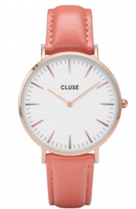 Zegarek Cluse La Boheme Rose Gold White/Flamingo