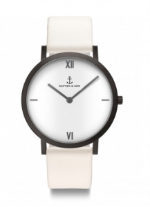 Zegarek Kapten Pure Lux White Leather